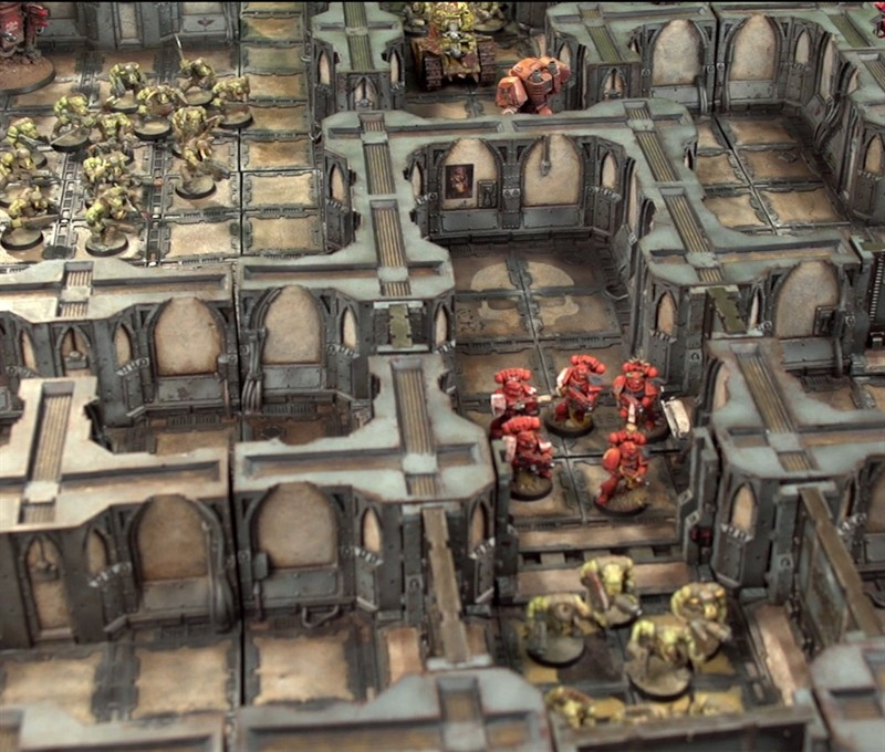 Zone Mortalis board at Warhammer World